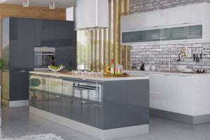 Кухонный гарнитур угловой Вог - Мебельная фабрика «Энли»