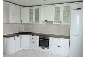 Кухонный гарнитур в эмали Империя - Мебельная фабрика «Мебель.Ру»