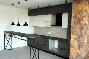 Кухонный гарнитур в современном стиле - Мебельная фабрика «НиксМебель»