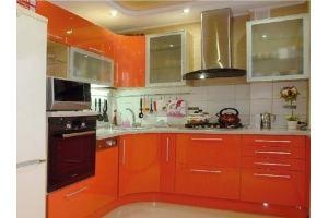 Кухонный гарнитур Яна оранжевый - Мебельная фабрика «Премьера»