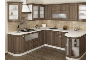 Кухонный гарнитур Янтарь - Мебельная фабрика «КамиАл»
