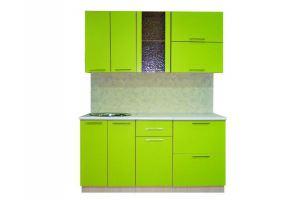 Кухонный гарнитур зеленый - Мебельная фабрика «Планета Мебель»