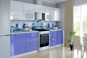 Кухонный глянцевый гарнитур Марта - Мебельная фабрика «Веста»