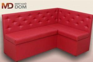 Кухонный красный уголок Джерри - Мебельная фабрика «Мягкий Дом»