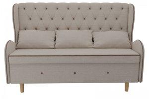 Кухонный прямой диван Сэймон Люкс - Мебельная фабрика «Лига Диванов»