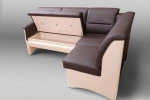 Кухонный угловой диван Тайм с ящиками - Мебельная фабрика «Треви»