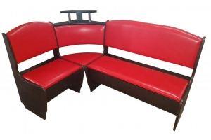 Кухонный угол Нео красный (венге) - Мебельная фабрика «ТМК (Техномебель)»