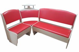 Кухонный угол Нео оранж - Мебельная фабрика «ТМК (Техномебель)»