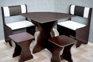 Кухонный уголок 10 с угловым столом - Мебельная фабрика «РиАл», г. Волжск