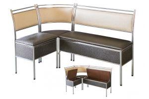 Кухонный уголок Классика с ящиком - Мебельная фабрика «GlassArt»