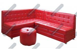 Кухонный уголок красный  - Мебельная фабрика «Наша мебель»