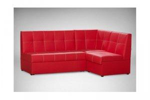 Кухонный уголок красный со спальным местом - Мебельная фабрика «Пегас»