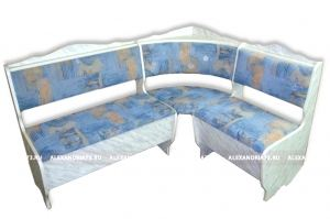 Кухонный уголок с гребнем ЛДСП - Мебельная фабрика «Александрия»