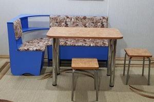 Кухонный уголок со столом и табуретами - Мебельная фабрика «Оричанка»
