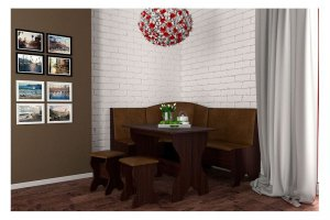 Кухонный уголок Троя  - Мебельная фабрика «Бум-Мебель»