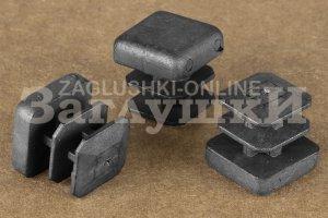 Заглушка квадратная внутренняя 15х15 мм Артикул 110312202 - Оптовый поставщик комплектующих «Заглушки»
