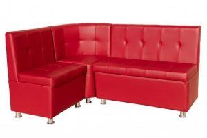 Кухонный уголок красный Лагуна - Мебельная фабрика «Норма»