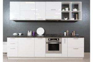 Лаконичная кухня Глосс белая - Мебельная фабрика «Хомма»