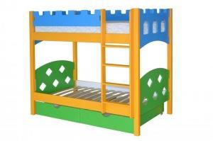 Кровать в детскую Ланцелот двухъярусная - Мебельная фабрика «Мебель Холдинг»