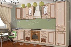 Кухня прямая Лантана-1 - Мебельная фабрика «Дара»