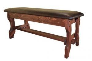 Лавка Крестьянка (кожа) - Мебельная фабрика «Кедр-М»