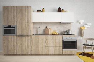 Кухня ЛДСП 001 - Мебельная фабрика «МИКС»