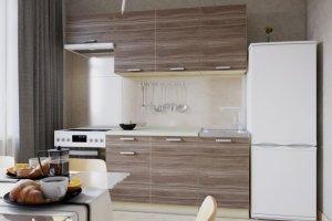 Кухня ЛДСП 008 - Мебельная фабрика «МИКС»