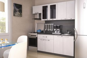 Кухня ЛДСП 009 - Мебельная фабрика «МИКС»