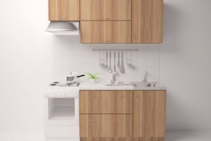Кухня ЛДСП 012 - Мебельная фабрика «МИКС»