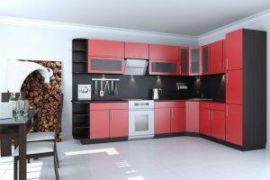 Кухня ЛДСП 018 - Мебельная фабрика «МИКС»