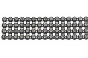 Лента стразовая TP18.01 - Оптовый поставщик комплектующих «Мебельный Декор»