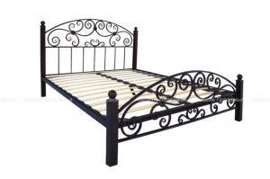 Кровать металлическая Лейла - Мебельная фабрика «Мебель Поволжья»