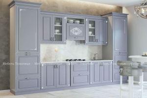 Кухня МДФ эмаль Лиана - Мебельная фабрика «Мебель Поволжья»