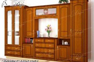 Гостиная Либерти-2 - Мебельная фабрика «Дара»
