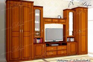 Гостиная Либерти-5 - Мебельная фабрика «Дара»