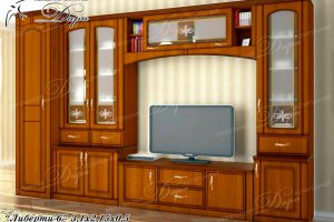 Гостиная Либерти-6 - Мебельная фабрика «Дара»