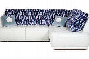 Модульный диван Сальто с оттоманкой - Мебельная фабрика «Британника»