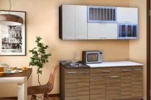 Маленькая кухня Соло 3 - Мебельная фабрика «Сибирь»