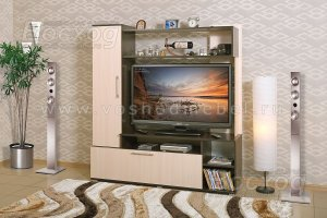 Маленькая ТВ-стенка Азалия - Мебельная фабрика «Восход»