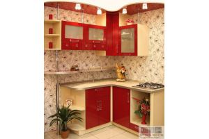 Маленькая угловая кухня - Мебельная фабрика «Актуаль-М»