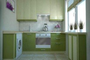 Маленькая угловая кухня - Мебельная фабрика «Mirati»