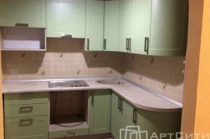 Маленькая угловая кухня - Мебельная фабрика «МК АртСити»
