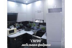 Маленькая угловая кухня - Мебельная фабрика «Кредо»