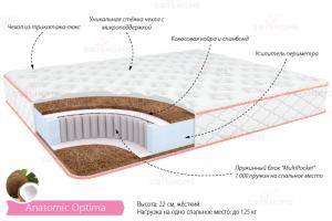 Матрас Анатомик Оптима - Мебельная фабрика «Деталь Мастер»