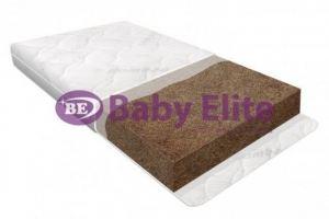 Матрас детский кокосовый Basic 12 - Мебельная фабрика «Baby Elite»