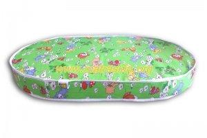 Матрас для новорождённого Снежок овал - Мебельная фабрика «Матраскин»