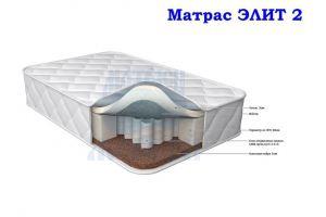 Матрас Двухсторонний Морфей Элит 2 - Мебельная фабрика «Морфей»