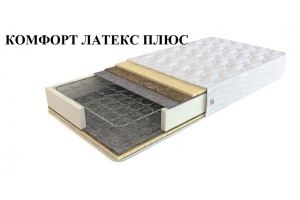 Матрас Комфорт латекс плюс - Мебельная фабрика «Корпорация сна»