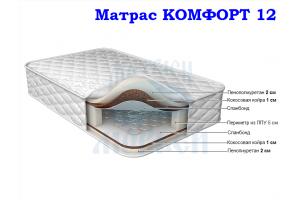 Матрас Морфей Комфорт 12 - Мебельная фабрика «Морфей»
