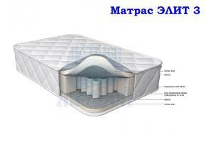 Матрас мягкий Морфей Элит 3 - Мебельная фабрика «Морфей»